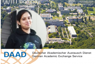 Ms. Parmita Ghosh awarded the DAAD Fellowship