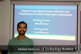 Mr. Siddharth Hariharan's successful defence of Ph.D. thesis