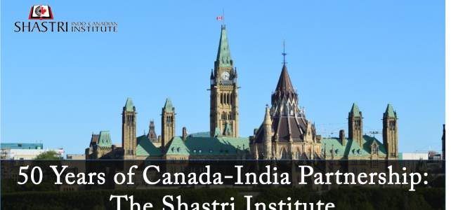 Mr. Dipankar@Parliamentary Event on 50 Years of Canada-India Partnership: The Shastri Institute in Ottawa, Canada
